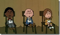 Charlie Brown at the Spelling Bee