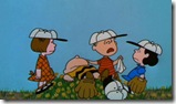 Charlie Brown on the Pitchers Mound
