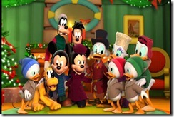Disney Gang at Christmastime