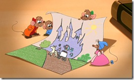 Cinderella II Mice Drawing Pictures