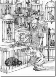 Jack Selecting Aldwyn in the Familiars Shop