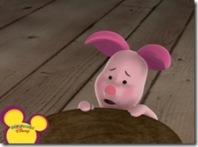 Piglet Frightened