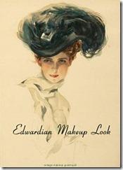 Edwardian Makeup Look