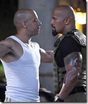 Vin Diesel vs. the Rock