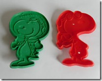 Antique Snoopy Cookie Cutters