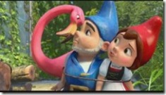 Gnomeo & Juliet with Flamingo Friend